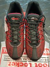 Nike AIR MAX 95 ULTRA Jacquard BLACK RED MEN TRAINERS