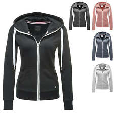 Only Damen Sweatjacke Hoodie Sweatshirt Pullover Kapuzenjacke Color Mix NEU