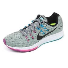 C5950 sneaker donna NIKE AIR ZOOM STRUCTURE 19 scarpa grigio shoe woman