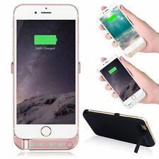 External 10000mAh Battery Charger Cover Power Case Pack For Apple iPhone 6 7 8 X