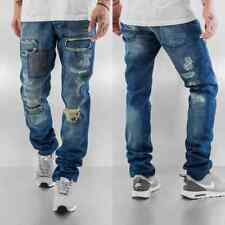 Just Rhyse Uomini Jeans / Jeans straight fit Patch