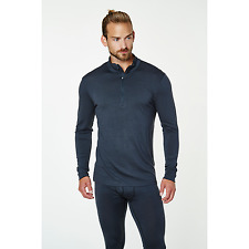 Helly Hansen HH Wool 1/2 Zip Base Layer Thermal 48502/980 Ebony NEW