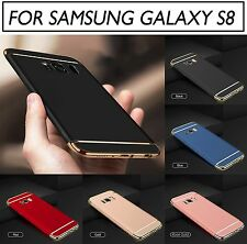 Luxury 3 IN 1 Matte Finish Hybrid Hard Back Case Cover FOR SAMSUNG GALAXY S8