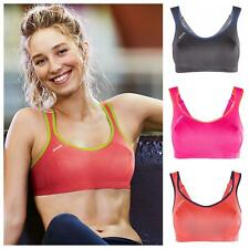Shock Absorber High Impact Sports Bra S4490 Non Wired Gym Workout Run Bra