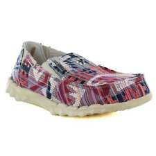 Hey Farty Mens Canvas Slip-On Shoes - Incas Red