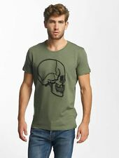 Red Bridge Uomini Maglieria / T-shirt Stiched Skull