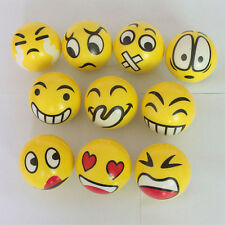 Pallina antistress emoticons smile gialla soft - Ball antistress smile