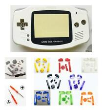 GBA Nintendo Game Boy Advance WHITE Replacement Housing Shell Screen BUTTONS!