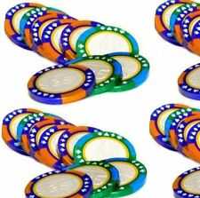 Milk Chocolate Foiled  Poker Casino Chips Coins Sweets Party Weddings 10 - 180