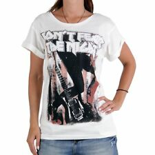 Decay Premium Collection Mujer Camiseta T-Shirt Do Not Fear Blanco md305