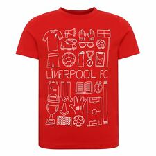 LFC Boys Red Outline Object Tee