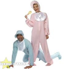 ADULT BIG FUNNY BABY COSTUME MENS WOMENS BABIES ROMPER FANCY DRESS STAG DO