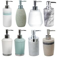 Ceramic / Resin / Marble / Acrylic Bathroom Liquid Soap / Lotion Dispensers