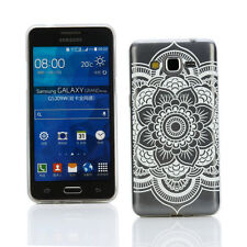 [Ultra Thin] Floral Slim Silicone Gel Case Cover +SP- Samsung Galaxy Grand Prime