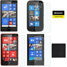 AMZER Clear Screen LCD Guard Film Protector Anti-Scratch For Nokia Lumia Phones