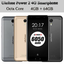 "Ulefone Power 2 4g LTE Smartphone 5.5"" Android 7.0 mtk6750t Octa Core 4gb+64gb"