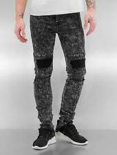 Sixth June Uomini Jeans / Jeans slim fit Destroyed KneeCut Biker