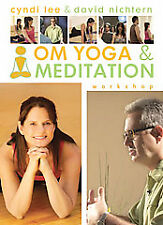 OM Yoga and Meditation Workshop DVD CD Booklet Practice Yoga & Meditation NEW
