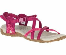 Merrell Terran Lattice Women's Sandal J55310 Fushia NEW