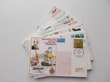 Royal Navy Philatelic Covers. RNSC(2) Series. Each sold separately.