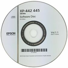 Epson Printer Driver Disc CD Expression Home XP-442 XP-445 Software Disk