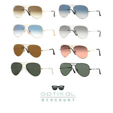 occhiali da sole RAY BAN 3025 RB3025 large metal AVIATOR uomo donna sunglasses