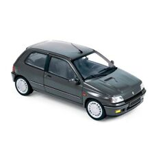 NOREV 185230 185234 RENAULT CLIO diecast model road cars blue 93 / grey 91 1:18
