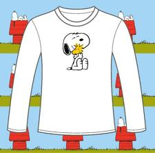 "Long Sleeved Snoopy & Woodstock ""BEST FRIENDS"" t-shirts. 3clrs. FREEPOST peanuts"