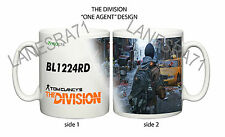 THE DIVISION Game Xbox One PS4 PC PERSONALIZED GAMER TAG Coffee Mug 3x DESIGNS