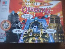MB Hasbro Games Doc Dr Who Operation Game Spare Playing Pieces Body Parts Cards