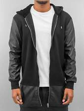 Bangastic Uomini Maglieria / Hoodies con zip long leather