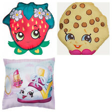 Official Shopkins Cushions Character Strawberry Kiss Kookie Cookie New 3 designs