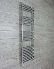 600mm Wide 1600mm High Designer Chrome Heated Towel Rail Radiator Bathroom Rad