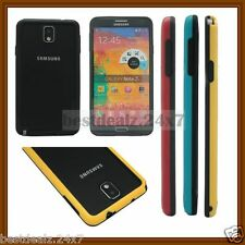 New Arrival Dual-Color Glossy PC+TPU Bumper Case for Samsung Galaxy Note 3 III