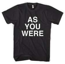 'As You Were' Liam Gallagher Oasis Beady Eye Unisex T-Shirt All Sizes Colours
