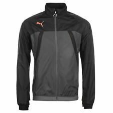 Puma Evo Thermo R Vent Jacket Mens Black/Coral Coat Outerwear