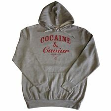 Crooks & Castles Cocaine & Caviar Pullover Hoodie Heather Grey Red