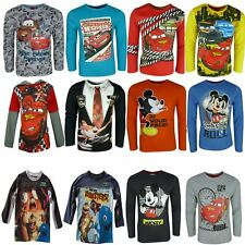 Garçons Disney Cars Mickey Mouse Planes Monsters Top à manches longues