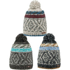 Barts Mens Tramotane Hand Knitted Warm Fleece Lined Beanie Bobble Hat