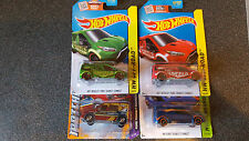 Ford Transit Connect Airport Hotwheels Matchbox Purple Blue Green Red