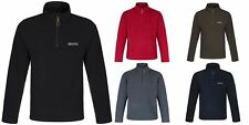 Regatta Elgon Mens Half Zip Fleece Top Jacket Pullover RMA236