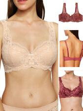 Triumph Amourette Charm WHP Lace Underwired Padded Bra Bohemian Rose Beige