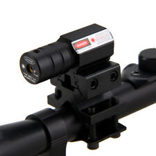 Telescope 4x20 Reticle Hunting Optic Sniper Rifle Scope Red Laser Sight&Mount  A