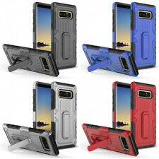 For Samsung Galaxy Note 8 Armor Hybrid Rugged Defender Case Cover With Kickstand
