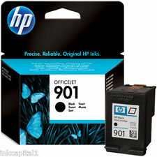 HP N 901 NERO ORIGINALE OEM CARTUCCIA A GETTO di inchiostro CC653AE OFFICEJET