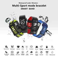 no.1 F4 Bluetooth 4.0 Frequenza Cardiaca Smartband IP68 Monitor sonno Sedentary