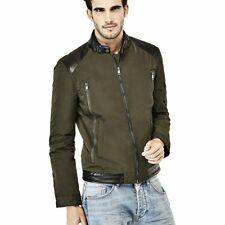 GUESS - CONNECTING BIKER JACKET  Model:  M73L03 W8SS0 A996