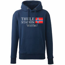 NAVY The Thing Thule Station Movie Hoodie John Carpenter Retro Film They Live