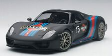 AUTOart 77928 77929 PORSCHE 918 SPYDER model cars Weissach Package 1:18th scale