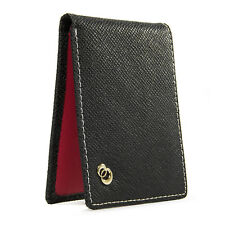 Multi Card Minimalist Slim Leather Mens Bifold Wallet